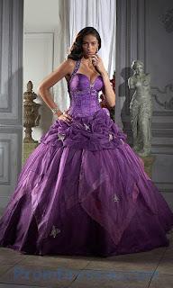 Vestidos para Quince Años, Purpura