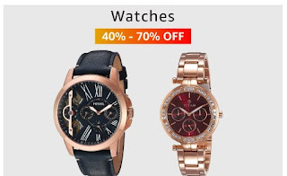 watches up to 40%-70% off