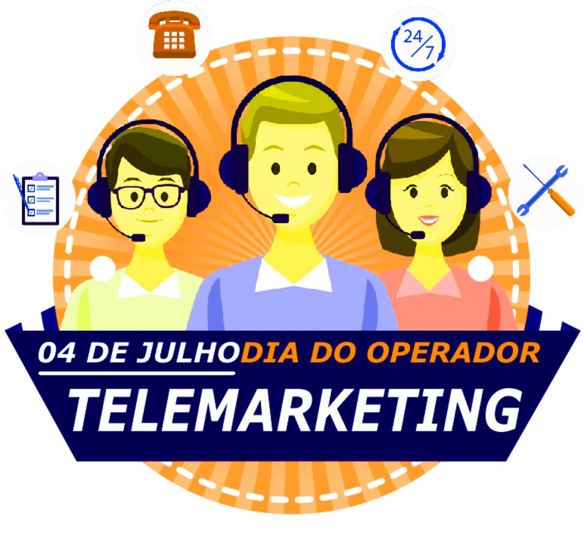 Mensagem para o dia do atendente de telemarketing