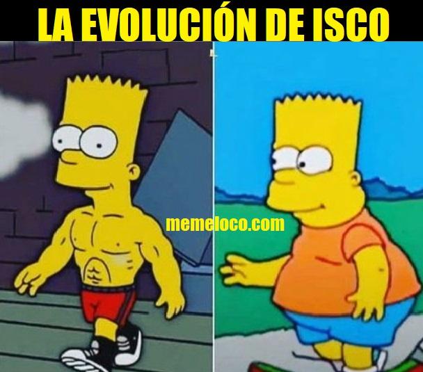 La Evolución de Isco