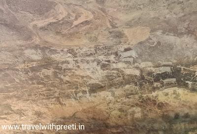 भीमबेटका की गुफाएं - Bhimbetka ki gufa or Bhimbetka Cave