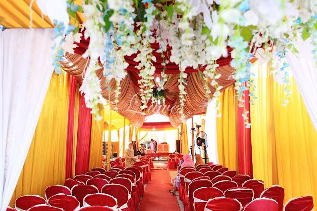 Tenda Pernikahan modern terbaru