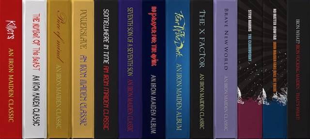 Διαθέσιμα για δωρεάν download 15 βιβλία για τους Iron Maiden
