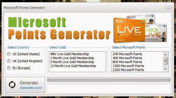Code Xbox Live (microsoft) Gratuit Gold Generator 2016 ...