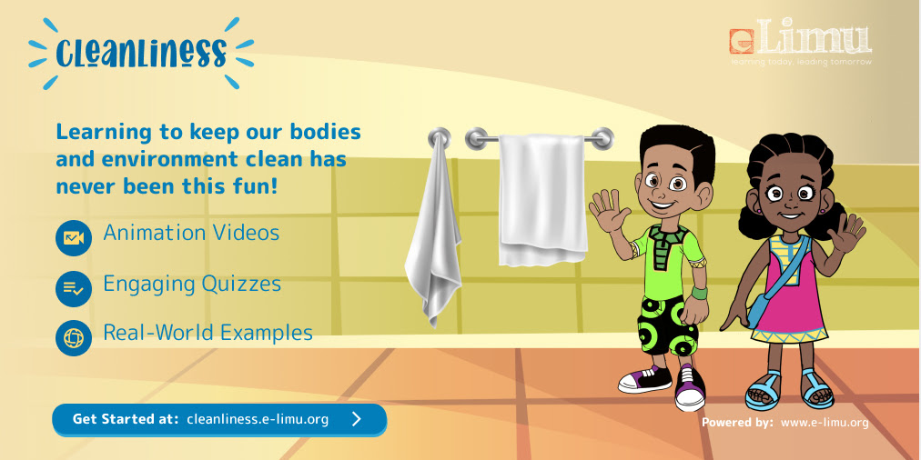 Introducing the eLimu Cleanliness app