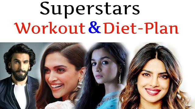 बॉलीवुड के 5 सुपरस्टार की  Daily Workout और Diet Plan 2018