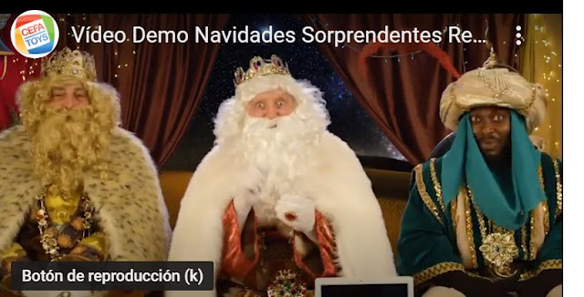 video reyes magos personalizado