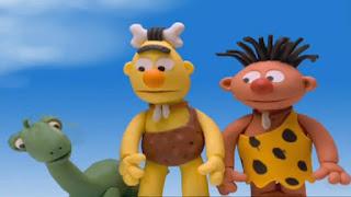 Sesame Street Bert and Ernie's Great Adventures Caveman