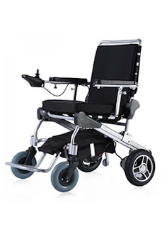 E Throne Folding Power Wheelchair