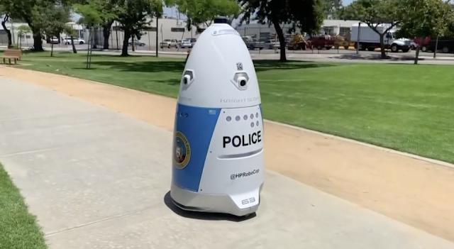 Crime fighting robot deployed