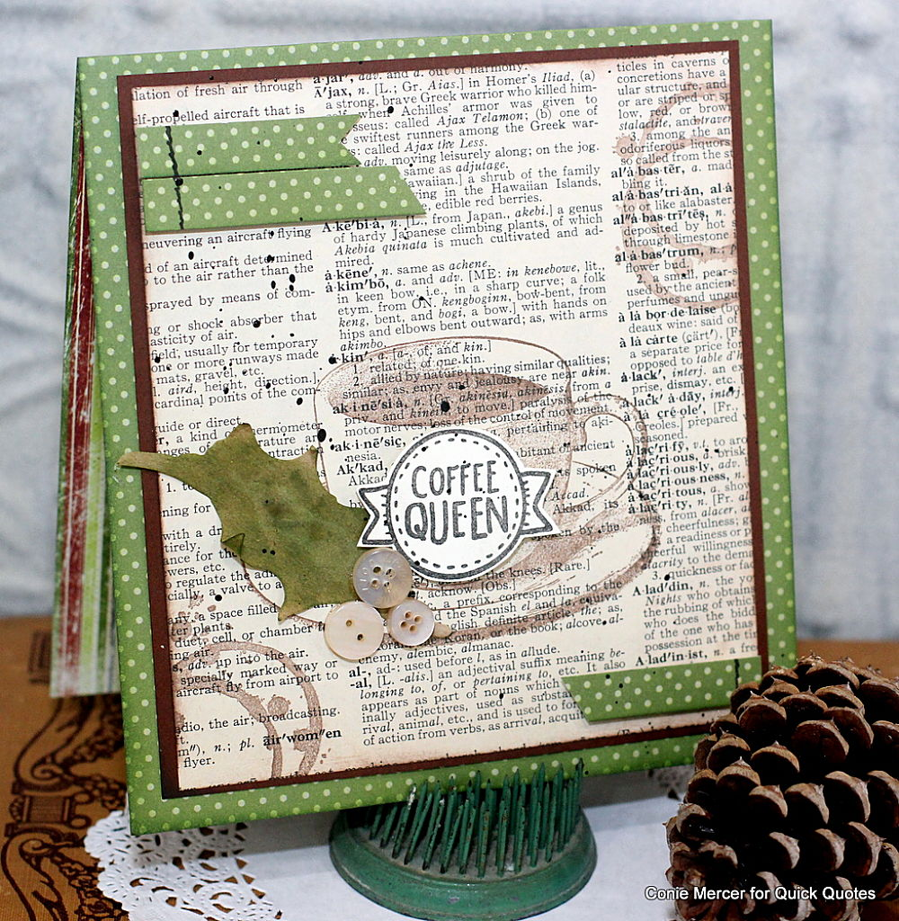 Quick Quotes Crafty Goodies Winter Coffee Lovers Blog Hop With Quick Quotes