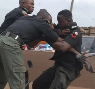 Pandemonium In Borno Govt. House As Soldier, Police In Shootout Over Rice