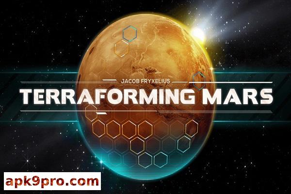 Terraforming Mars v1.1230 Apk + Data (File size 97 MB) for android