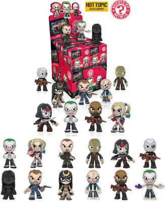 Hot Topic Exclusive Suicide Squad Mystery Minis Blind Box Series by Funko