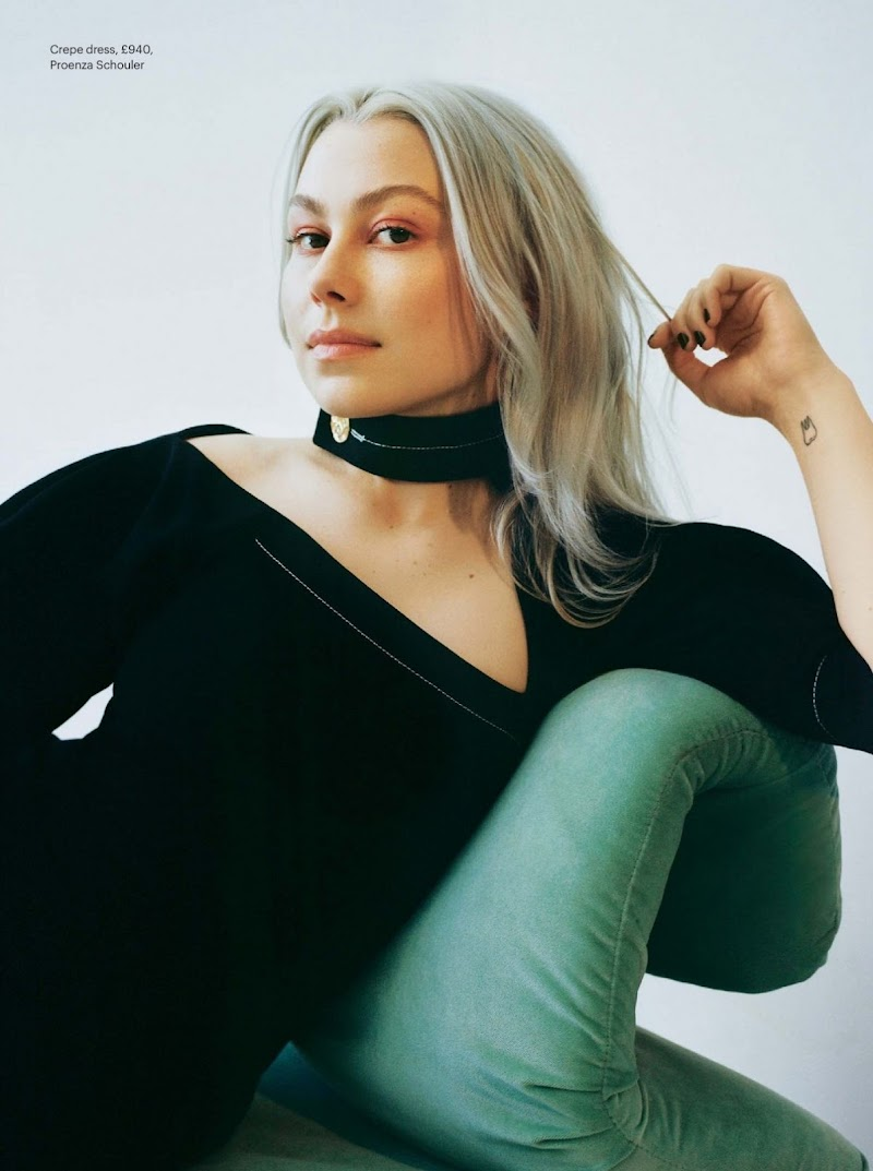 Phoebe Bridgers Featured in The Sunday Times Style Magazine - April 2021