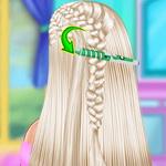 لعبة تسريحة شعر