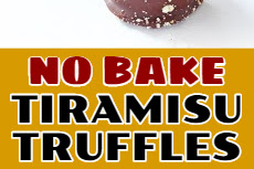 NO BAKE TIRAMISU TRUFFLES