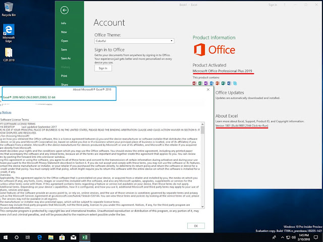 File ISO Office 2019