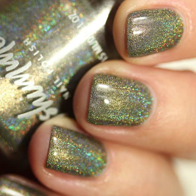 KBShimmer Fully Booked swatch