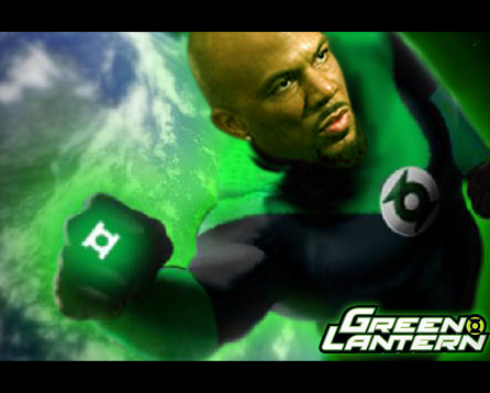 HEROES4US: JUSTICE LEAGUE MOVIE - RAPPER COMMON / GREEN ...