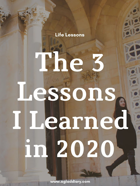 the 3 lessons I learned in 2020