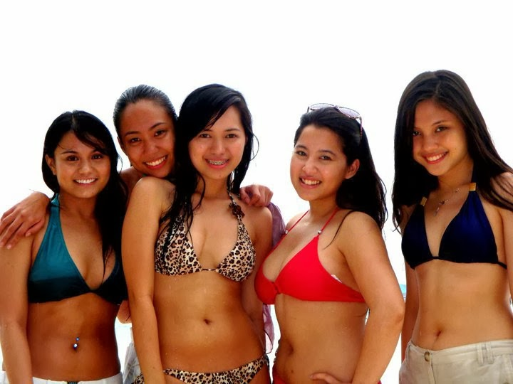 hot filipina and korean girls in bikini 04