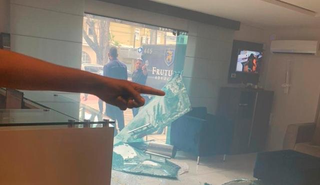 Escritório do Vice-Presidente do Santa Cruz é alvo de vandalismo por parte de membros de torcida organizada