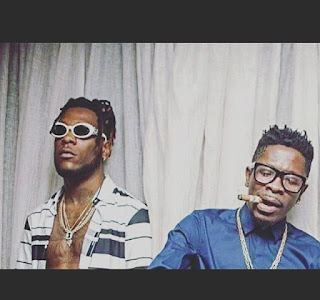 """Video: Shatta Wale and BurnaBwoy Chills As They Jams To """"Top Skanka"""" by STONEBWOY"""