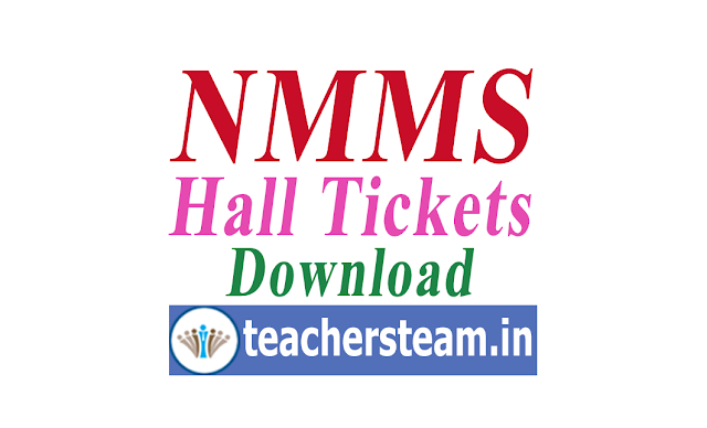 TS NMMS Exam Hall Tickets Download