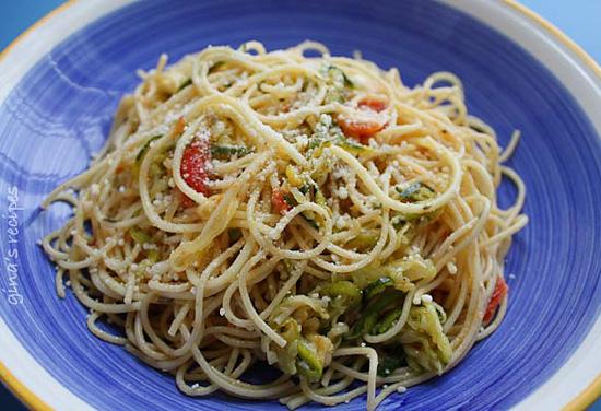 Paleo Angel Hair Pasta Salad