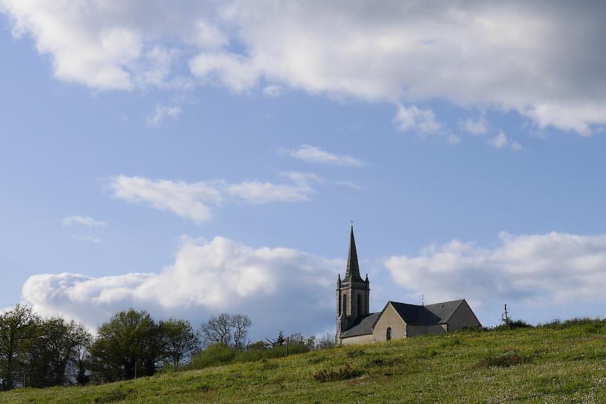 Saint-Ganton, l'église Saint-Quentin