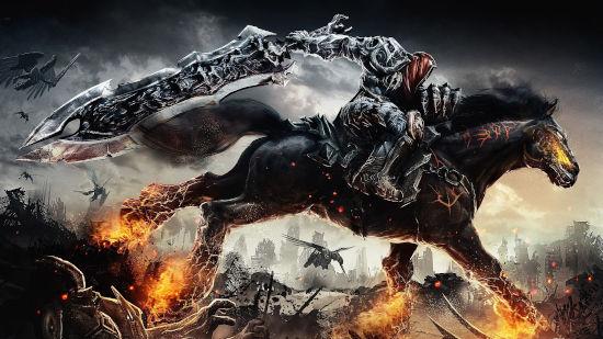 Darksiders - War sur son Cheval de Feu - Full HD 1080p