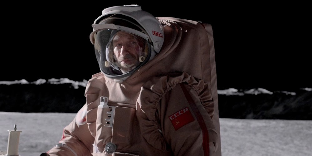 Soviet cosmonaut on the Moon in season 1 of 'For All Mankind'