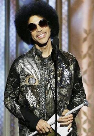 Foto de Prince sonriendo