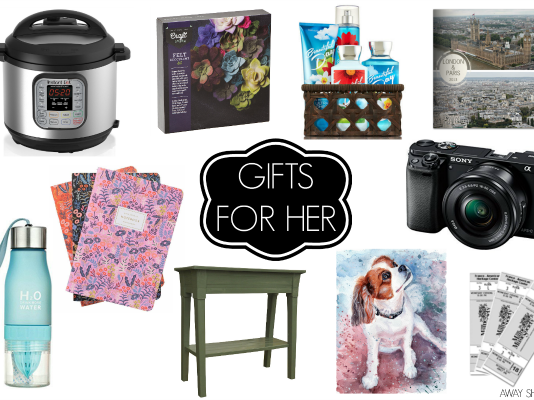 2017 Gift Guides: Gifts for Her