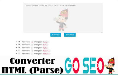 Converter HTML (Parse)