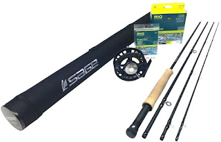 """SAGE Foundation 690-4 Fly Rod Outfit (6wt, 9'0"""", 4pc) review from Amazon"""