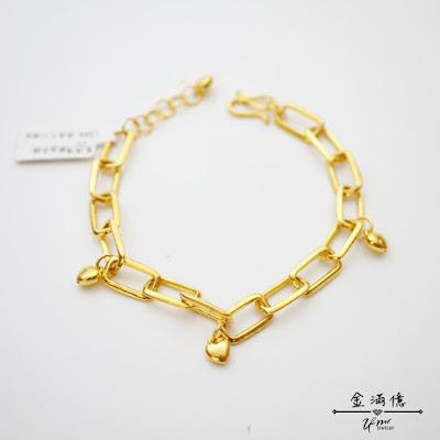 像極了愛情-黃金手鍊-純金9999