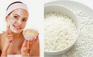 Cara memutihkan Kulit Secara Alami dengan tepung beras dan minyak zaitun