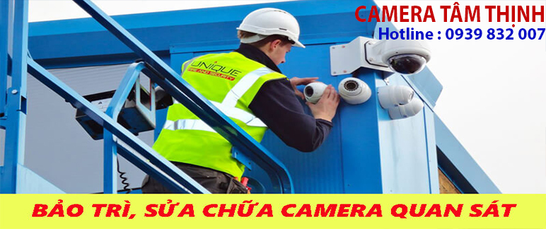 bảo trì camera bến tre