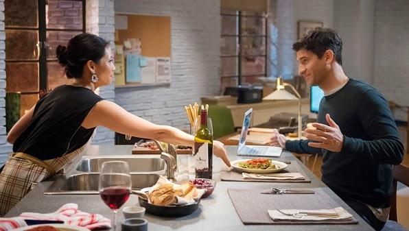 Joan Watson boyfriend Andrew Raza Jaffrey Elementary Season 3 Episode 13 Hemlock