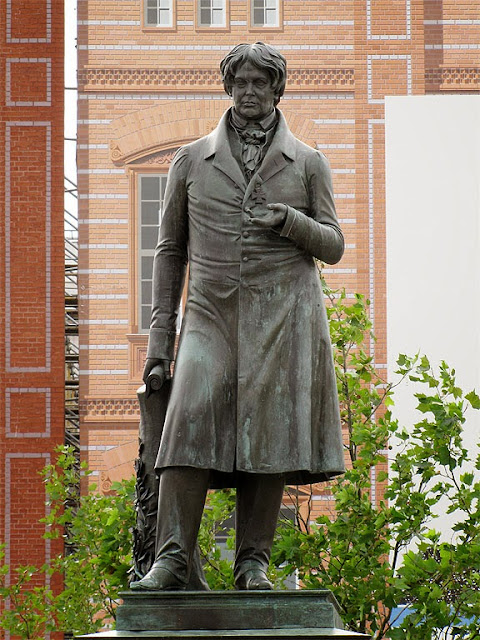 Christian Peter Wilhelm Beuth by August Kiss, Schinkelplatz, Berlin
