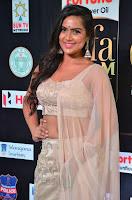 Prajna Actress in backless Cream Choli and transparent saree at IIFA Utsavam Awards 2017 0029.JPG