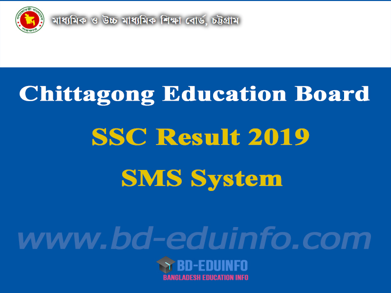 Chittagong Board SSC Exam Result 2019