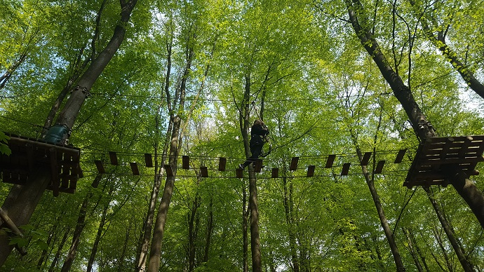 vejlen kiipeilypuisto Gorillapark