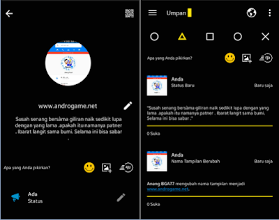 BBM Mod Transparan Yellow