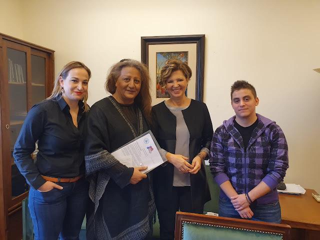 Συνάντηση της Γραμματέα της Κ.Ο του Σύριζα, Όλγας Γεροβασίλη, με το Σωματείο Υποστήριξης Διεμφυλικών