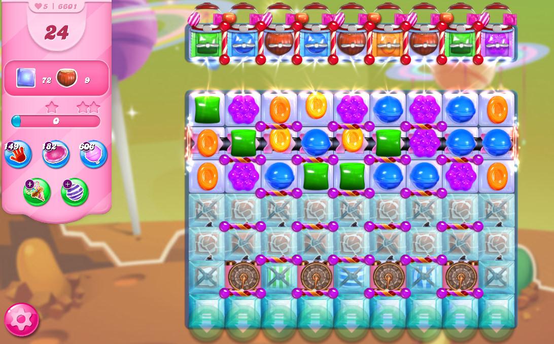 Candy Crush Saga level 6601