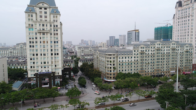 Hướng Tây Bắc nhìn sang Sudico Tower KĐT Sông Đà Mễ Trì