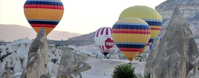 تركيا بالعربي - تركيا تسمح بإعادة عمل المناطيد اعتباراً من 22 أغسطس